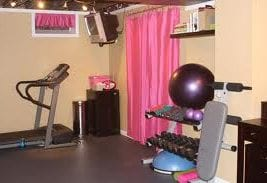 how to have a home gym in a small space  fitness expo
