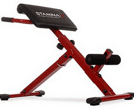 For Tight Abs and Strong Back Muscles Choose the HF-4263 Adjustable Ab /Back Hyper Bench