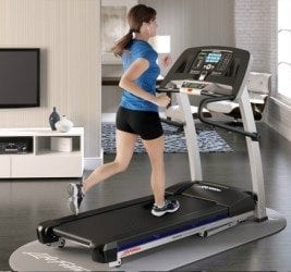 Enjoy Your Daily Run On a Life Fitness T5 Treadmill