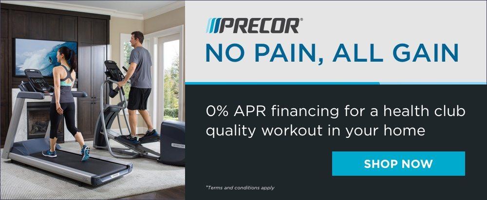 PRECOR 0% APR Financing
