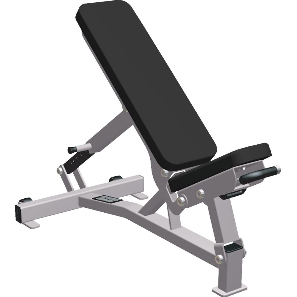 Free Weights Gym Near Me: LIFE FITNESS HAMMER STRENGTH MULTI ADJUSTABLE BENCH