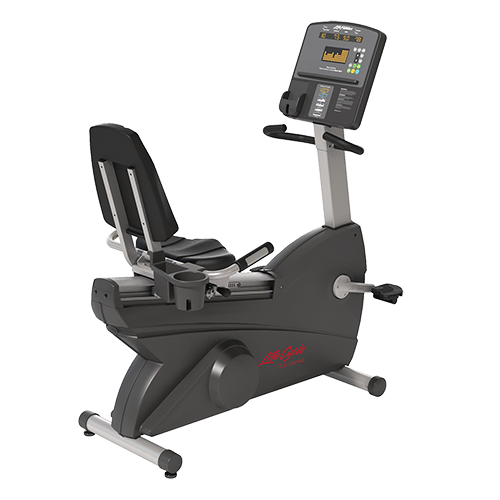 Life Fitness Club Series Recumbent Lifecycle Bike