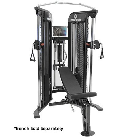 Inspire Fitness Ft1 Functional Trainer - Free Weights Shreveport - Fitness Expo