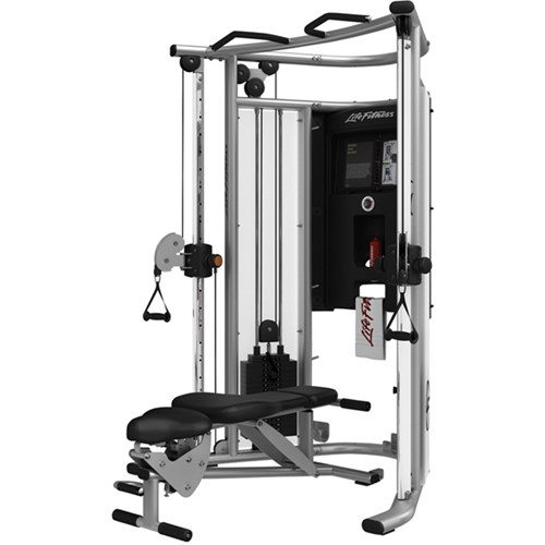 Life fitness g home gym with bench expo