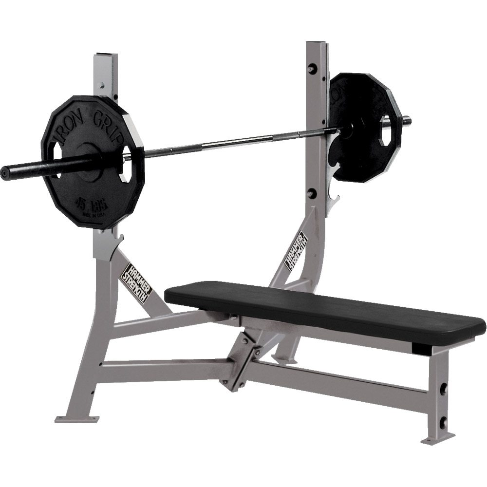 Life Fitness Hammer Stregth Olympic Flat Bench