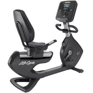 Life Fitness Platinum Club Series Recumbent Lifecycle Bike