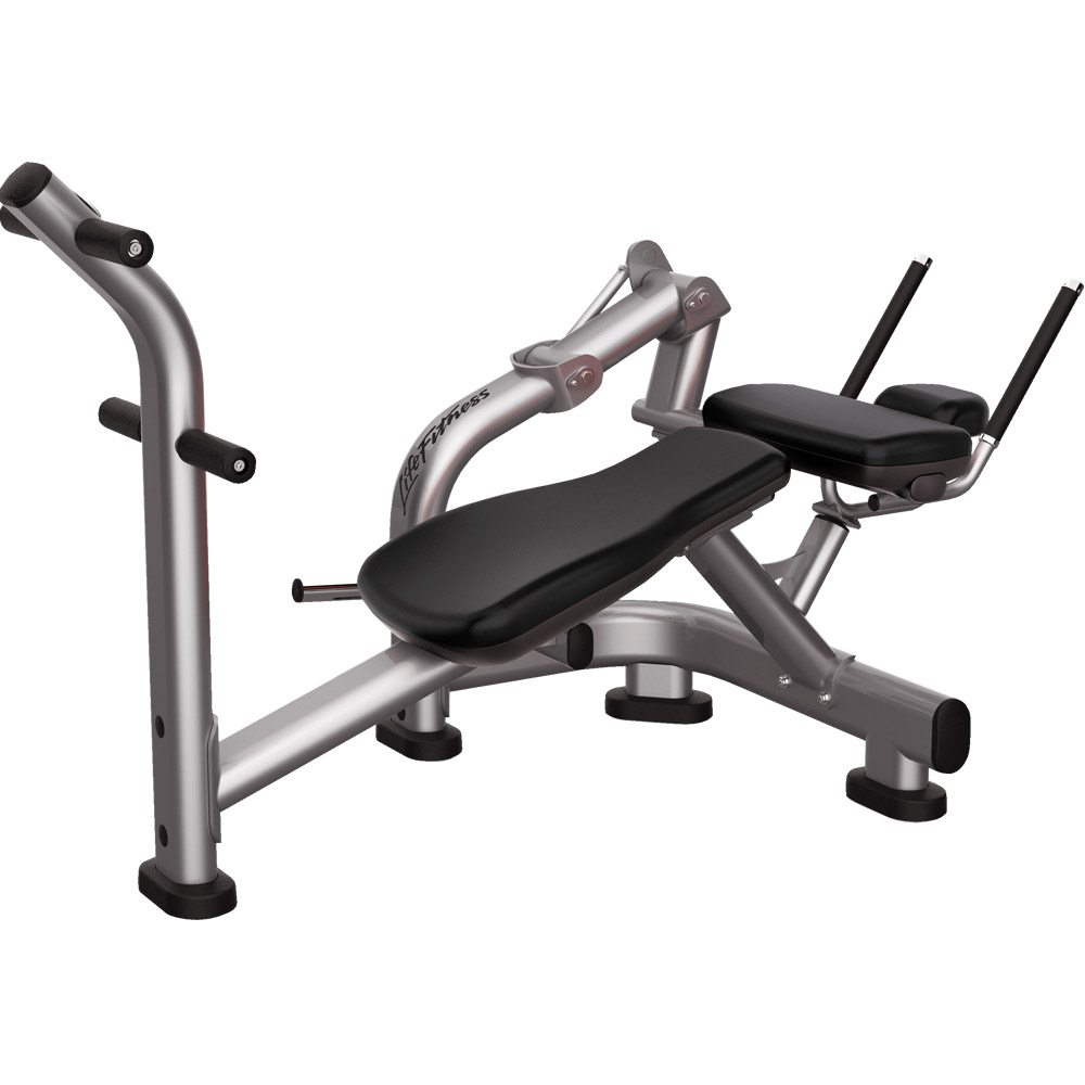 Free Weights Gym Near Me: LIFE FITNESS SIGNATURE SERIES AB CRUNCH BENCH