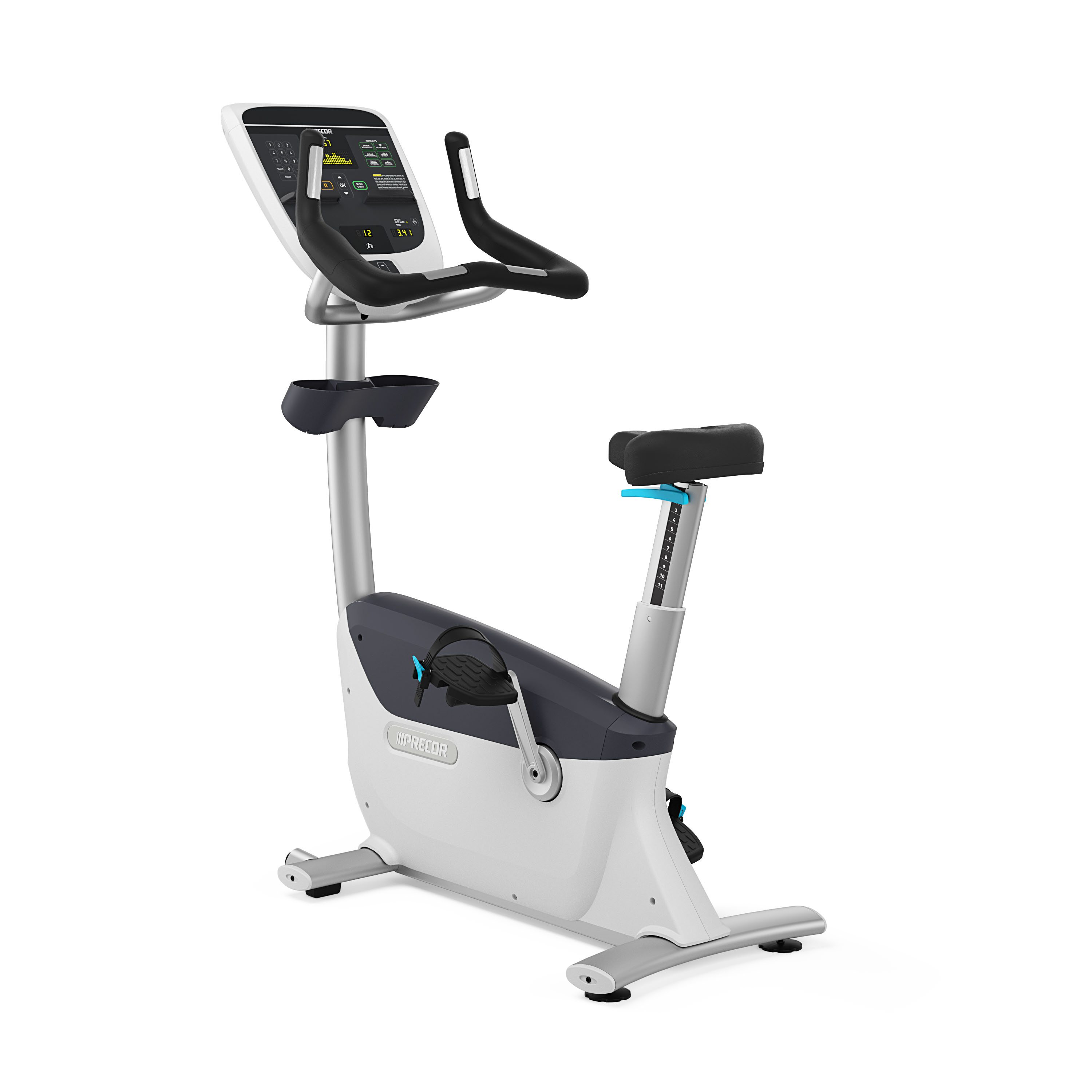 Precor Ubk615 Upright Bike Fitness Expo