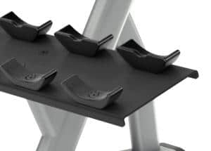 DBR0812 2 Tier 10 Pair Dumbbell Rack- Saddle Design