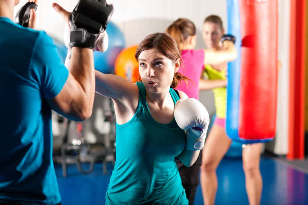 boxing exercise - Fitness Expo