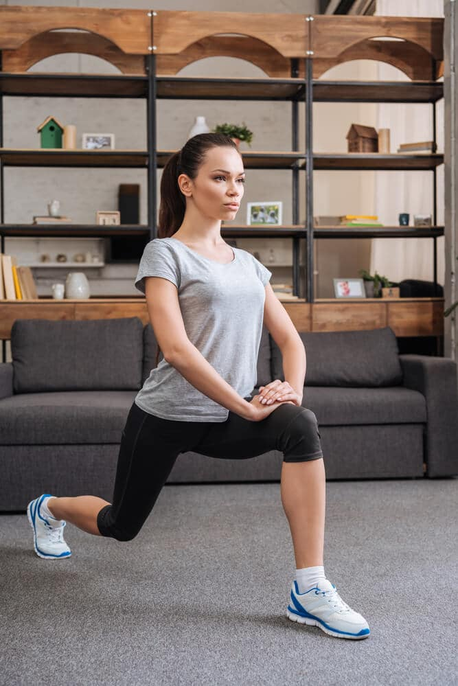 lunge exercise - Fitness Expo