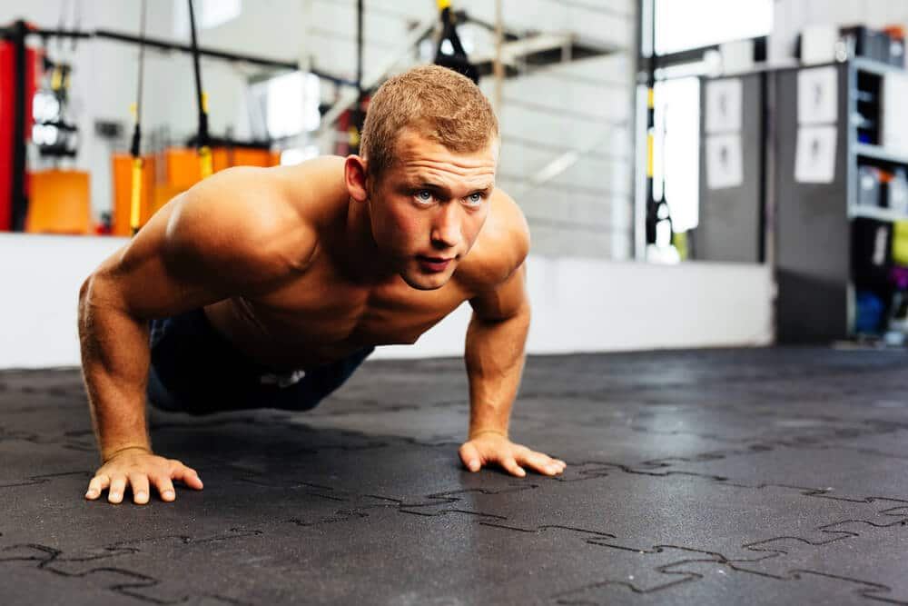 pushup exercises - Fitness Expo