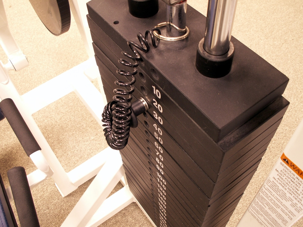 Weight stack gym equipment - Fitness Expo