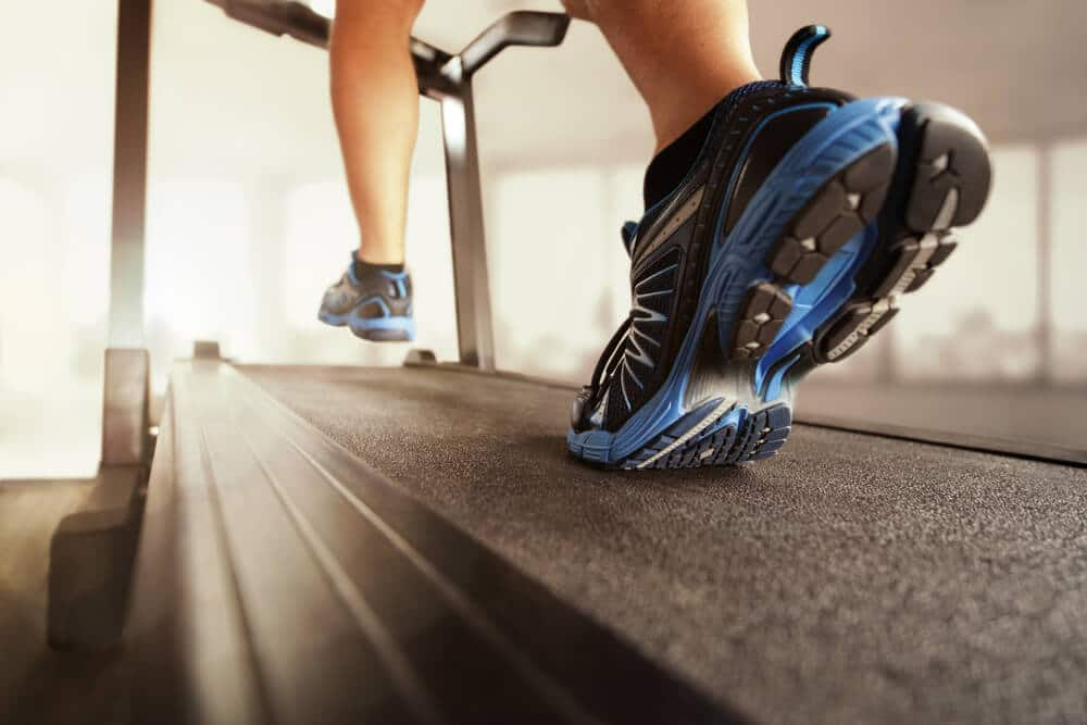 Man running on treadmill | Fitness Expo Stores