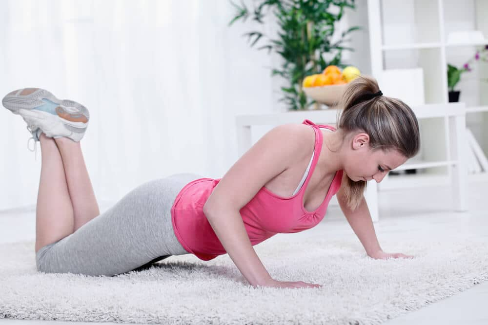 work from home exercise routine