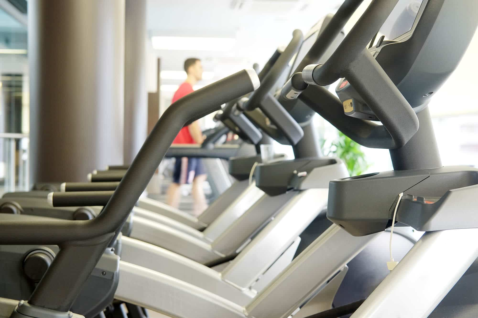 Fitness Gym with Ellipticals - Fitness Expo