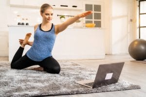 work from home exercise routine by Fitness Expo
